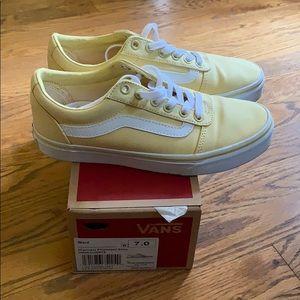 Yellow vans size 7